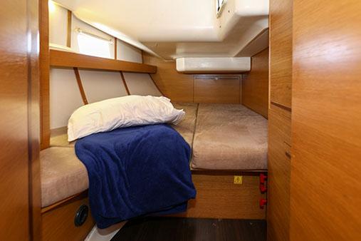elan starboard aft cabin